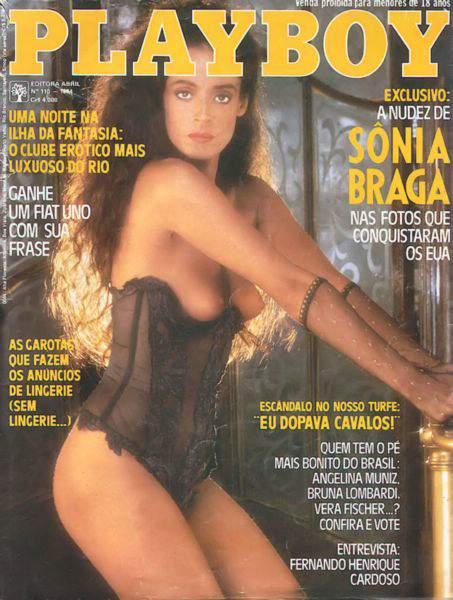 Sônia Braga Playboy 1984