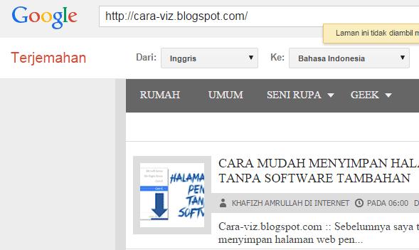 Cara Ter-Jitu Mengakses Situs Yang Diblokir