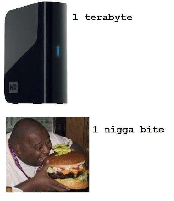 Byte and one nigga bite