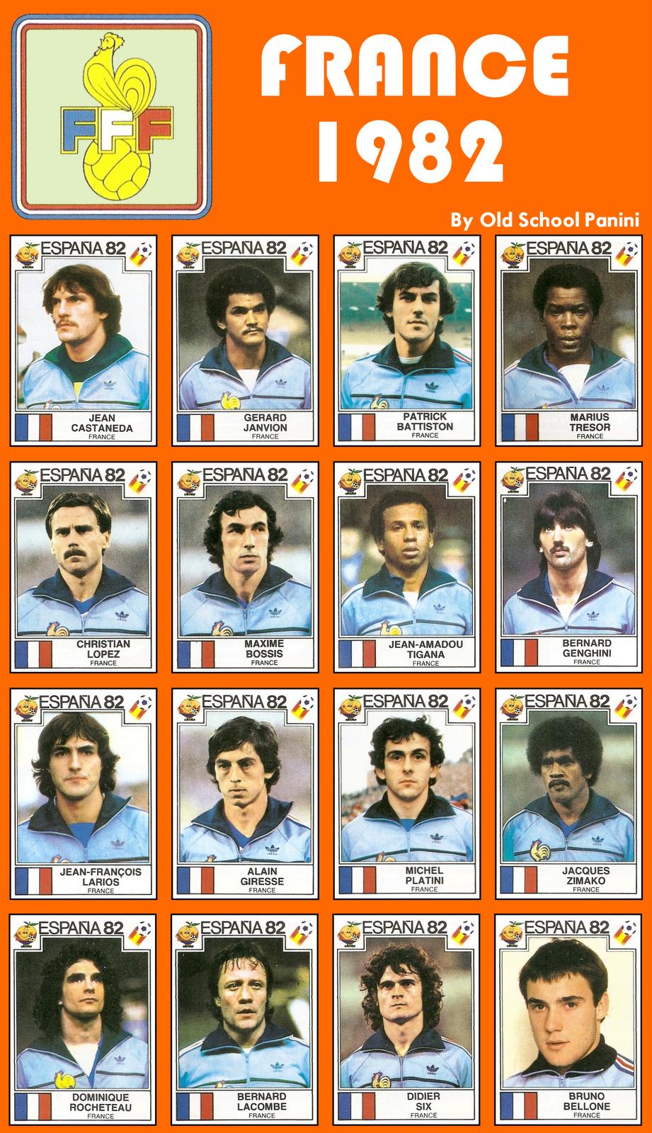Le mur du son marius tresor et patrick battiston parlent de france allemagne 82 - Coupe du monde france allemagne 1982 ...
