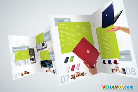 In nhanh catalogue tại Hà Nội