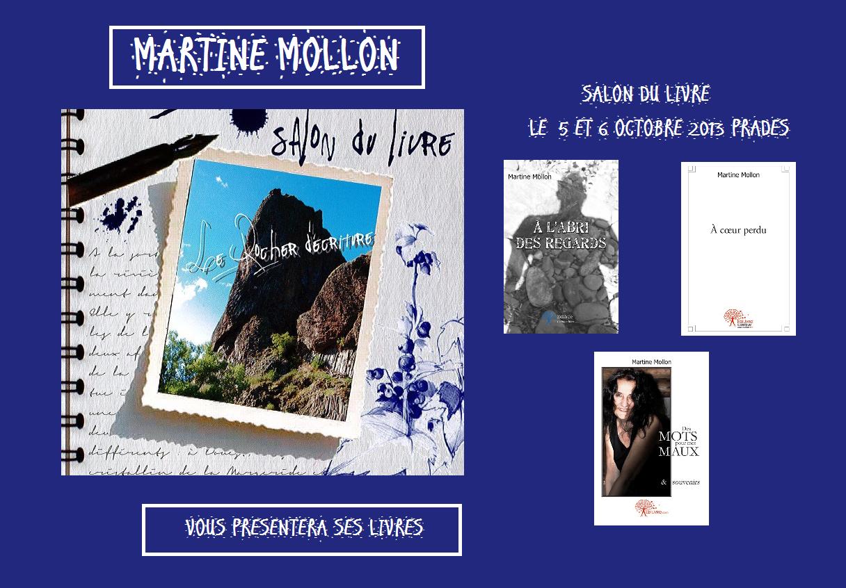 le programme du 5ème salon du livre du Rocher d'écriture de Prades 2013