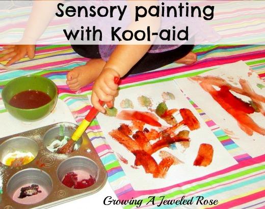 Kool-aid paint craft recipes