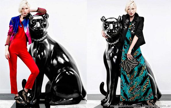 Jazmin Chebar otoño invierno 2013 moda