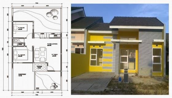 warna cat exterior rumah minimalis