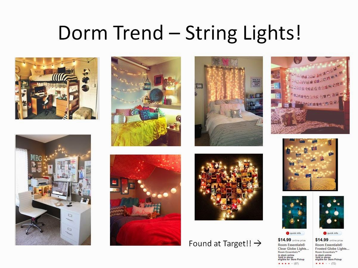Youu0027ve Heard It Here First, The Biggest Trend Right Now In The Dorm Room  World Is, Without A Doubt, String Lights   Any Form Or Fashion Will Do! Part 64