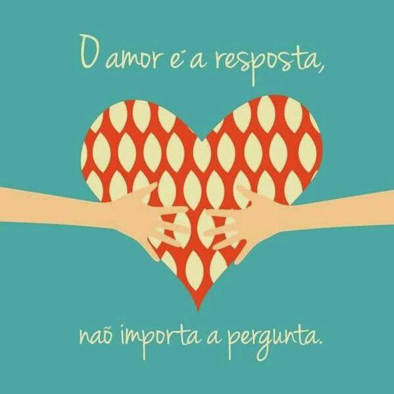 Sempre o amor...