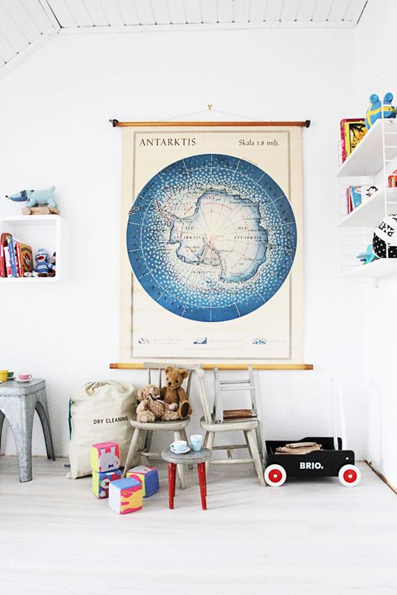 La Fabrique à Déco: Cartes géographiques : 7 styles et façons de