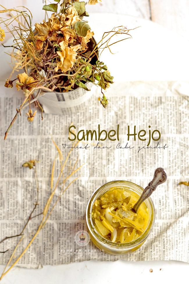 Sambel Hejo | Sambal Hijau