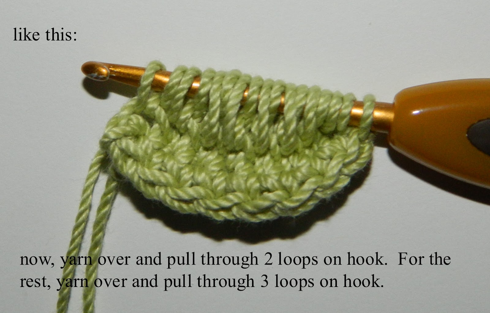 Lauras frayed knot crocheted leaf first the written directions and a few diagrams ccuart Image collections