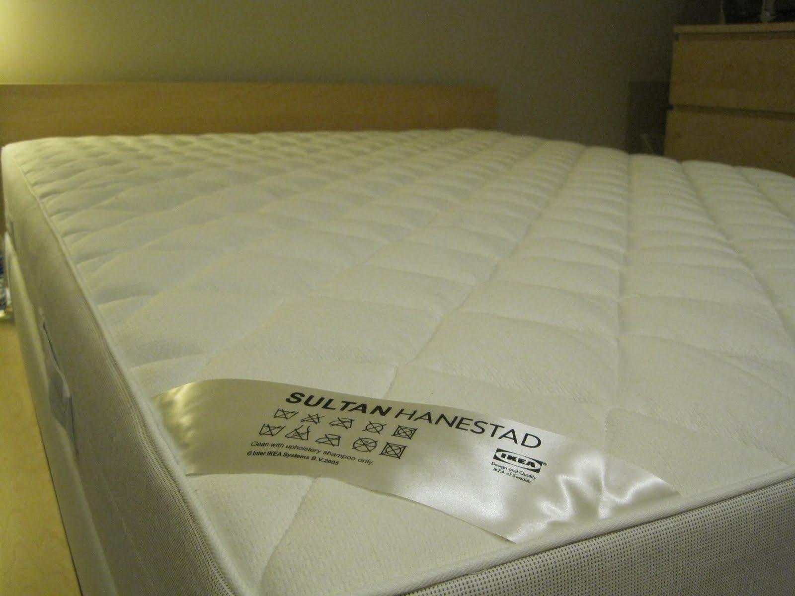 ikea mattress. Black Bedroom Furniture Sets. Home Design Ideas