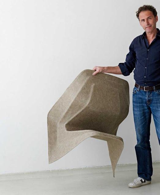 Federleicht ist der Hanf Stuhl zeigt Werner Aisslinger