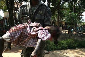 Ltte-suicide bomb attack- suicide bomb attack at IDP rescue centre - Kilinochchi