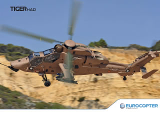 Mini Poster Eurocopter Tigre HAD