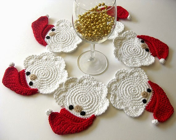 web de la navidad adornos de navidad hechos a crochet 2015