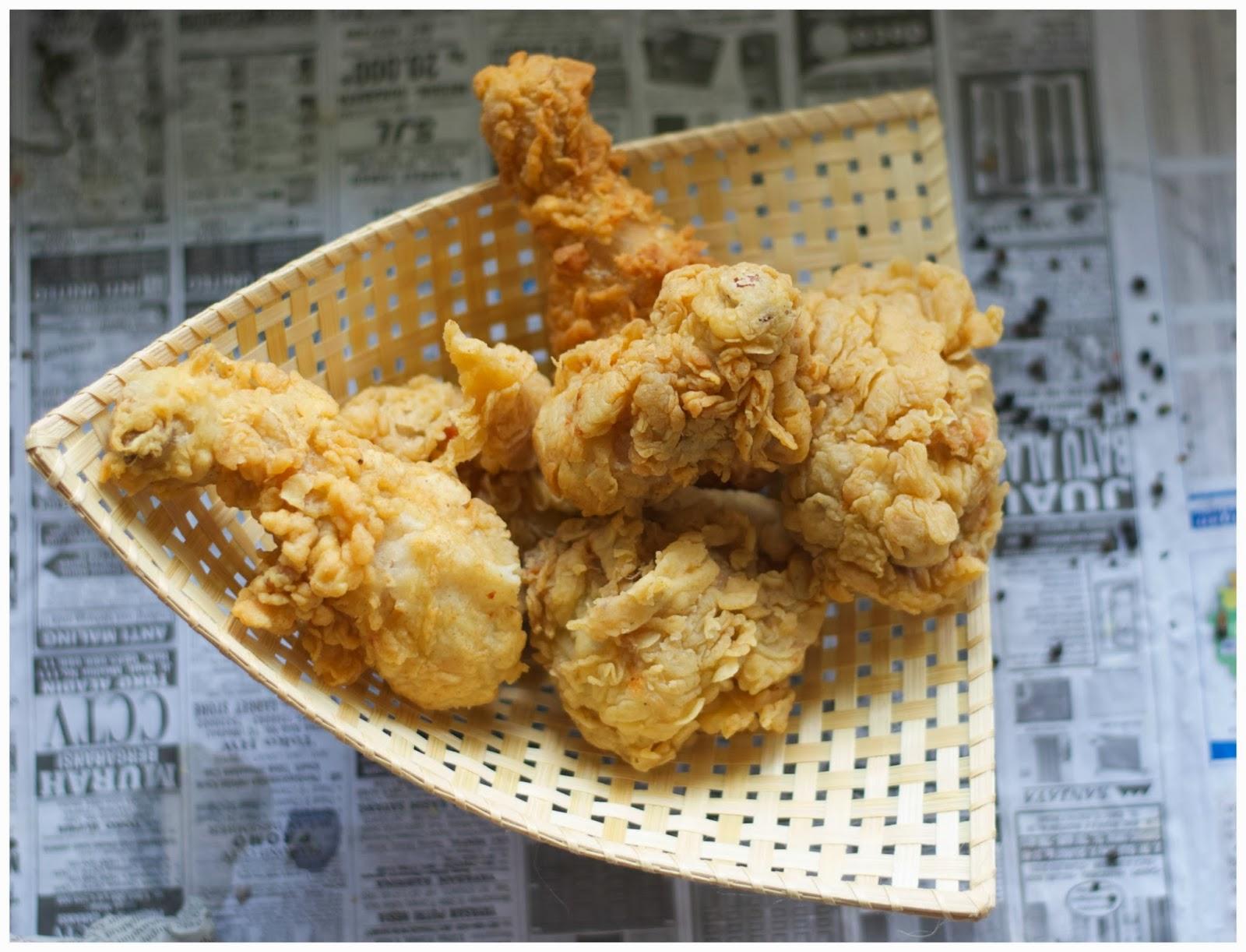 Resep Ayam Goreng Crispy Original