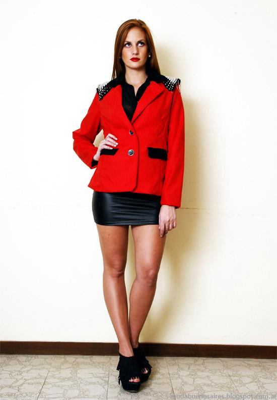 Blazers invierno 2013 moda mujer