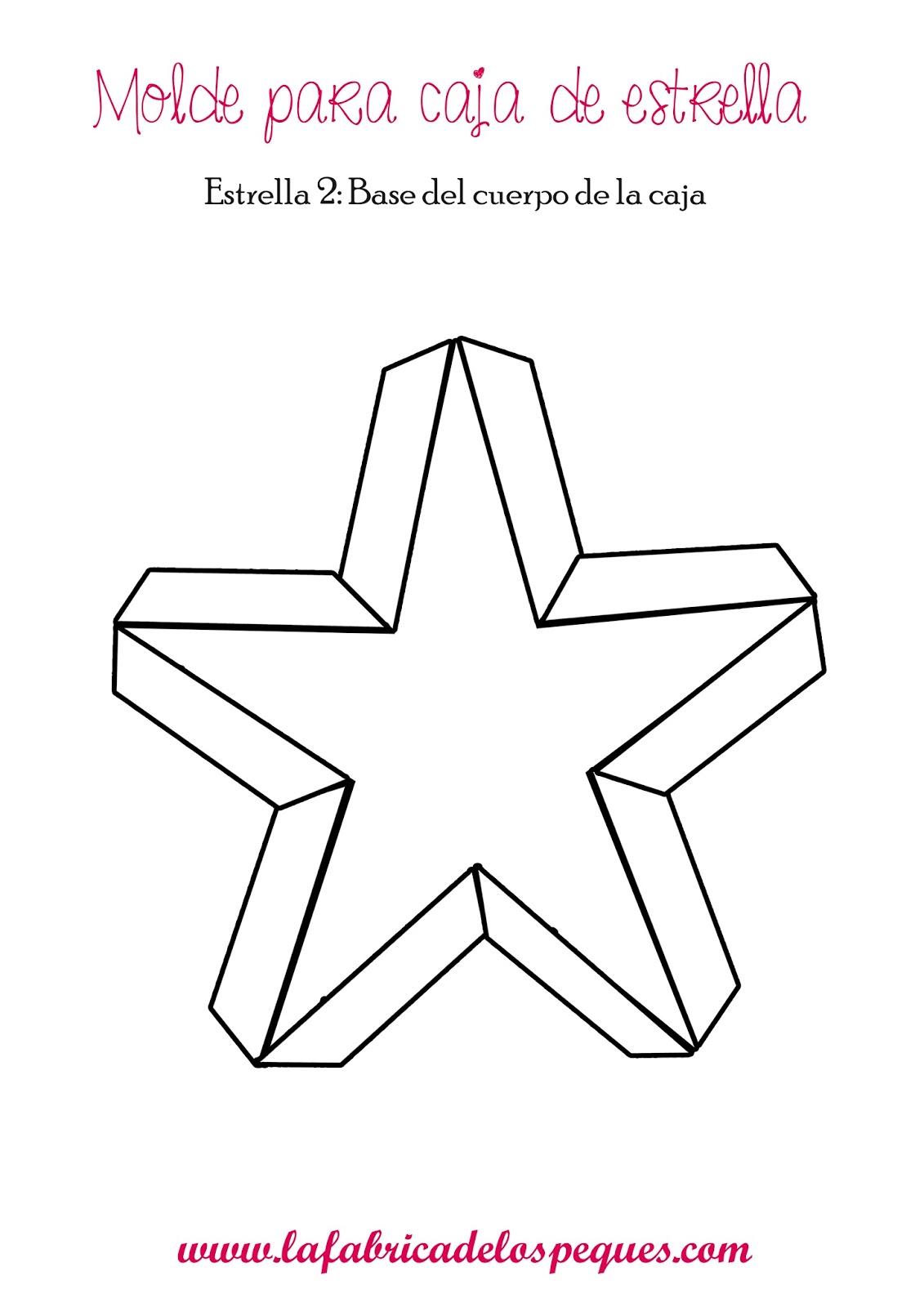 Ideas para las comidas y cenas de navidad la f brica de - Plantilla estrella navidad ...