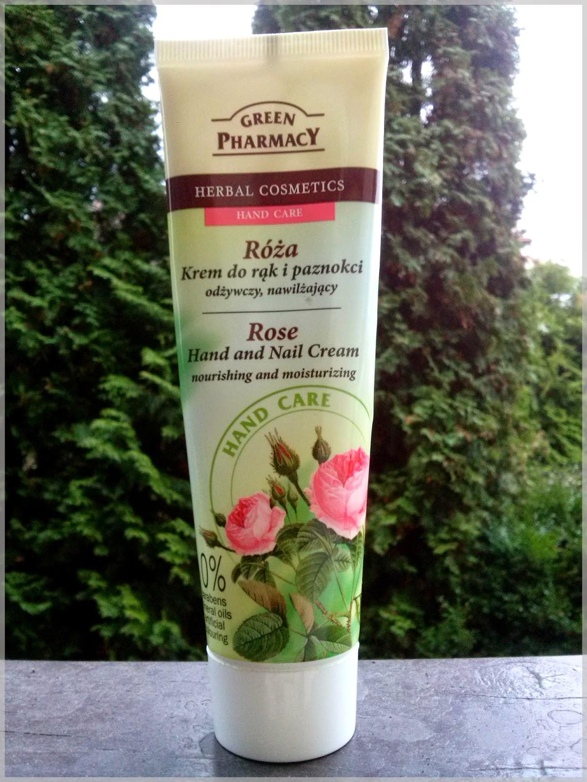 Różana pieszczota dłoni od Green Pharmacy
