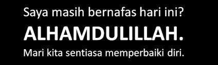 ALHAMDULILLAH SYUKUR...