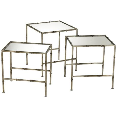 Bamboo Nesting Tables2