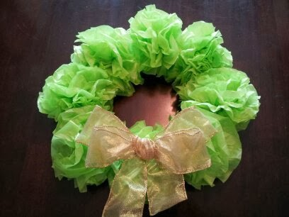 Christmas craft, Christmas wreath, kids craft, Christmas decoration