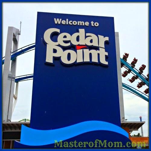 Cedar Point Sign