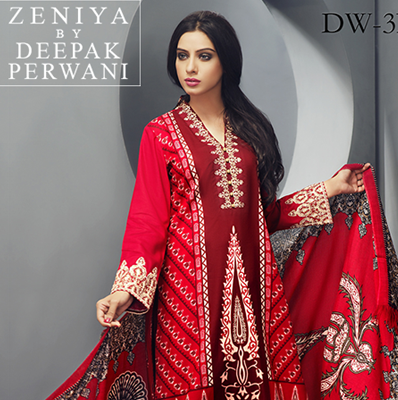 Zeniya Winter Shawl Collection 2015
