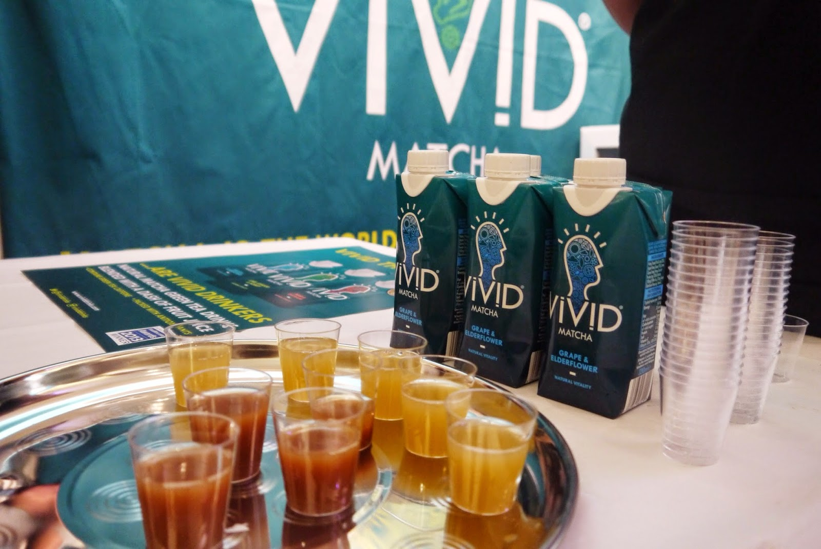 Vivid Matcha Drinks at Be:Fit London