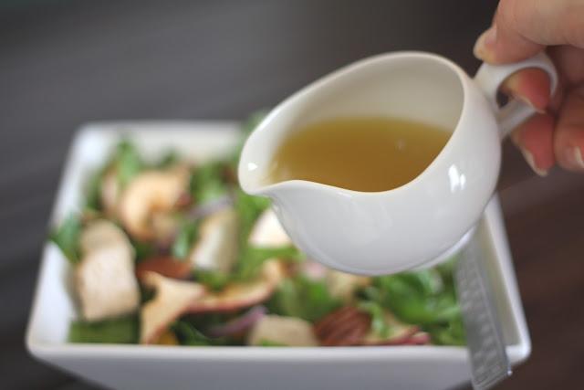 Honey Apple Vinaigrette recipe by Barefeet In The Kitchen