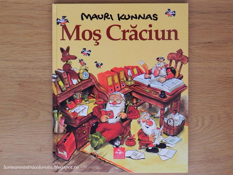 Moș Crăciun de Mauri Kunnas, editura Cartea Copiilor