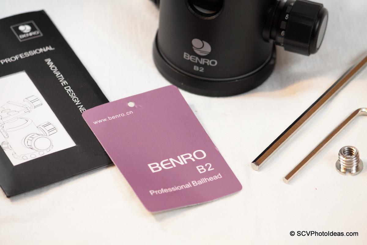 Benro B-2 product card