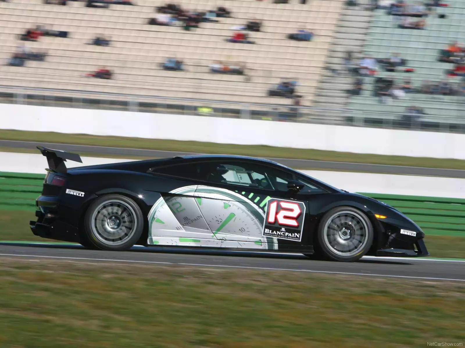 Hình ảnh siêu xe Lamborghini Gallardo LP560-4 Super Trofeo 2009 & nội ngoại thất