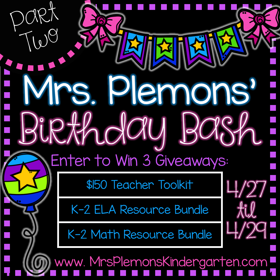 http://www.mrsplemonskindergarten.com/2015/04/birthday-bash-part-2-giveaways.html