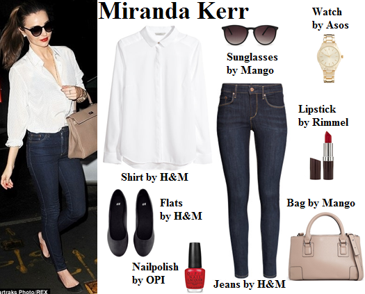miranda kerr, victoria's secret, style, fashion, jeans, classic,