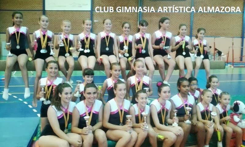 CLUB GIMNASIA ARTÍSTICA ALMAZORA
