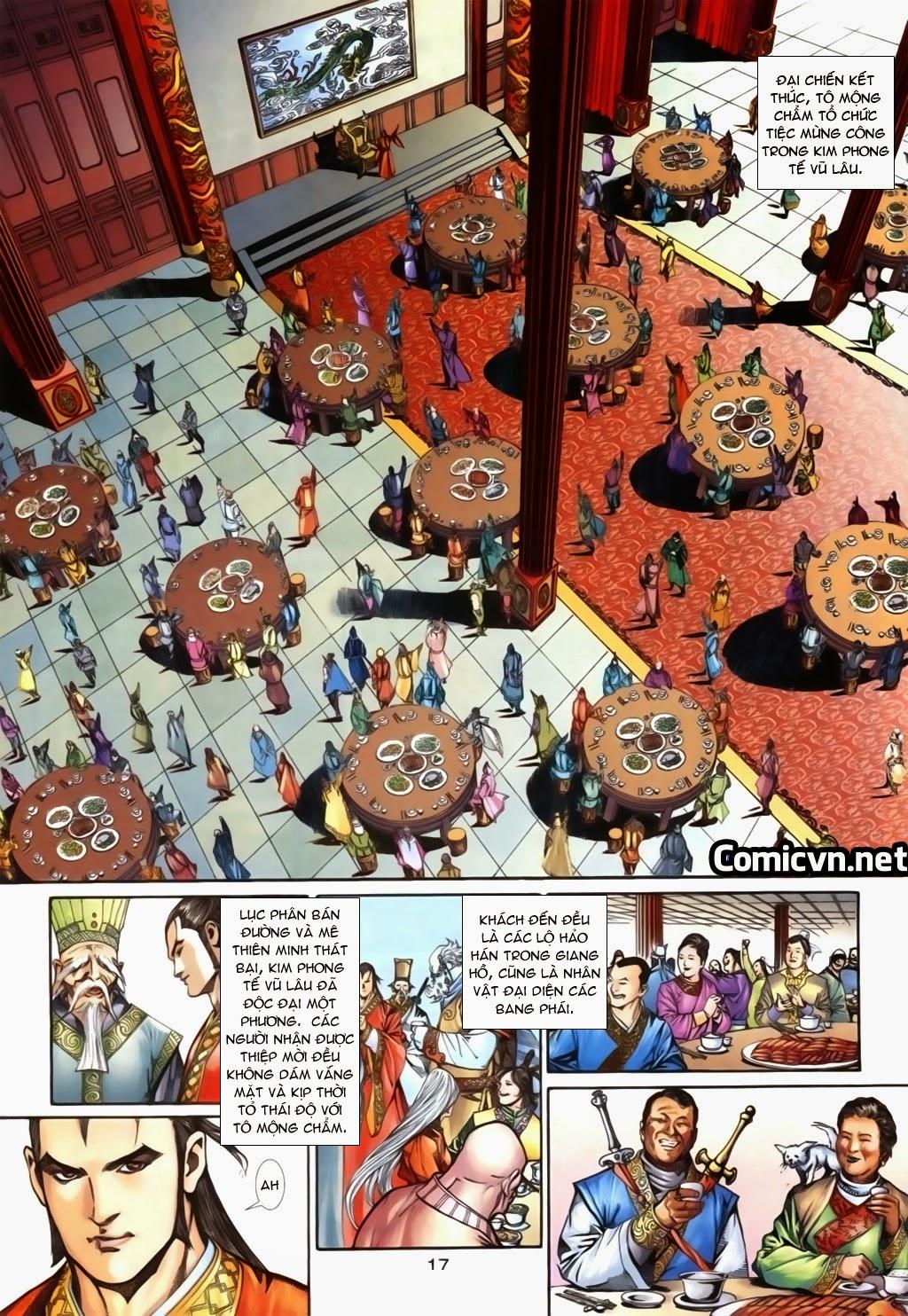 Thuyết Anh Hùng Thùy Thị Anh Hùng chap 16 Trang 18 - Mangak.info