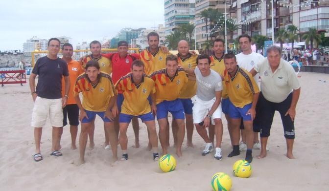 F tbol playa de secano convocatoria de la selecci n de for Federacion valenciana de futbol