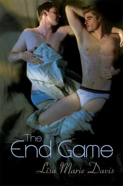 The End Game, gay romance novel with cover illustration by Paul Richmond