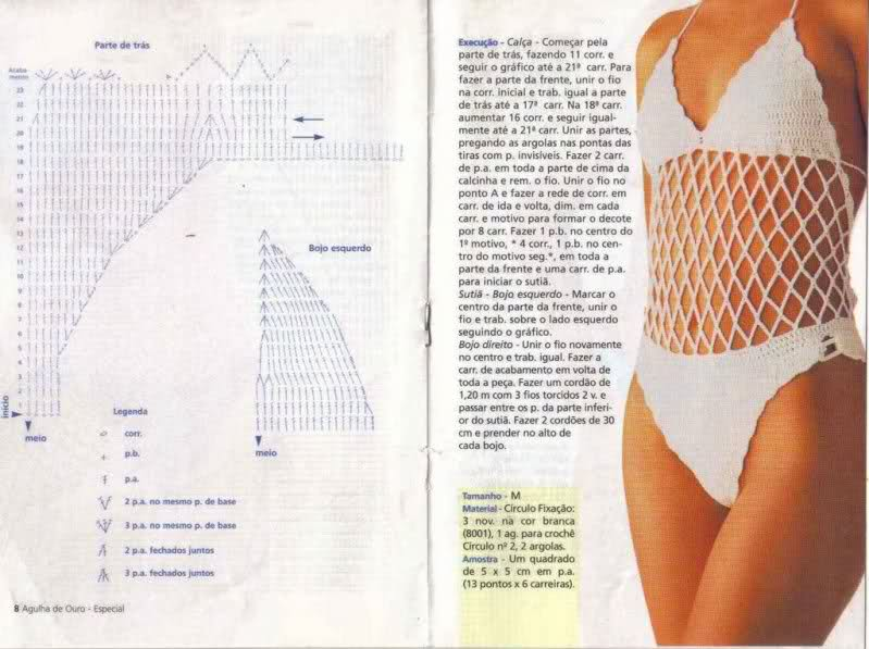 Bikinis en crochet   Manos de Tete
