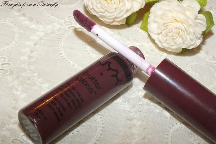 Review - NYX Butter Lipstick si Gloss