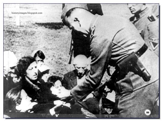 Einsatzgruppen officer Russian Jews women children Nazi exterminators