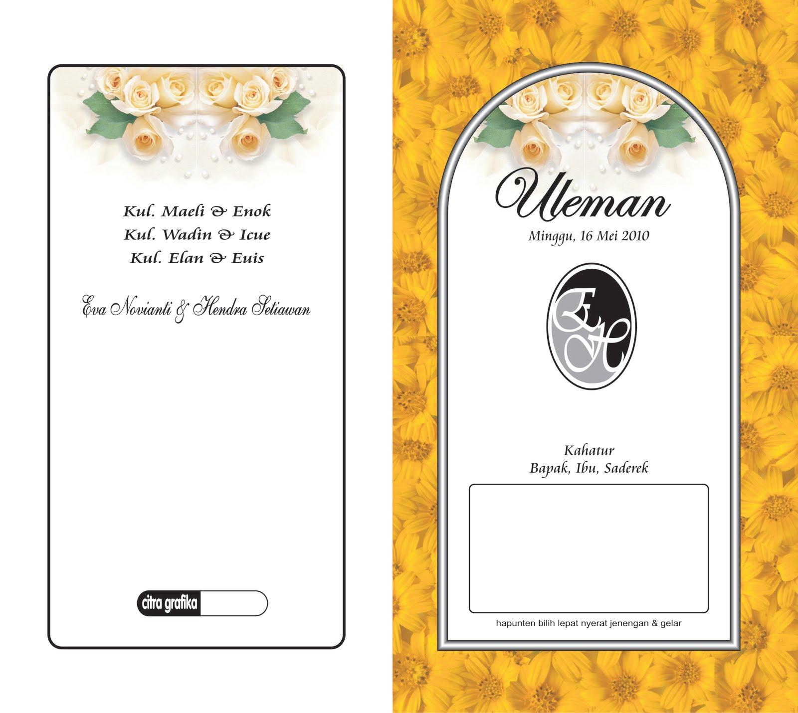 undangan pernikahan 2 undangan pernikahan 2