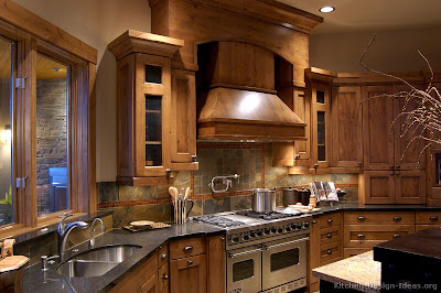 Home Ideas Galleries: rustic kitchen design ideas