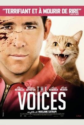 Au ciné il y a : The Voices