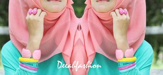 Inspirasi Jilbab Colorfull WarnaPelangi