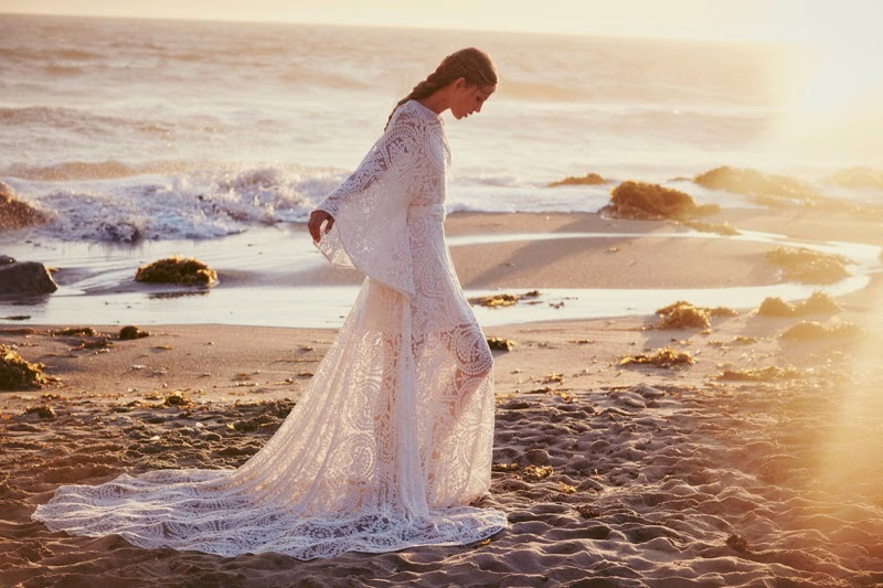 Free People launches bohemian bridal collection