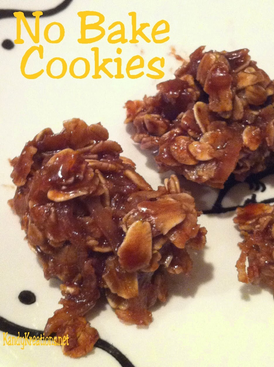 "No-Bake-Cookie-Recipe-by KandyKreations.  These are my ""go to"" #Cookies."