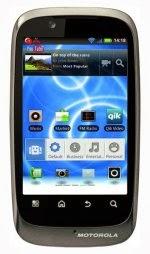 Harga Dan Spesifikasi Motorola Fire XT530 New, OS Android v2.3.4 Gingerbread