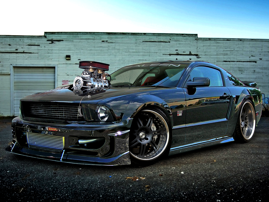 Shelby mustang gt 500 custom modified cars - Mustang modification ...